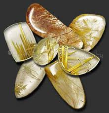 facts about gold rutilated quartz