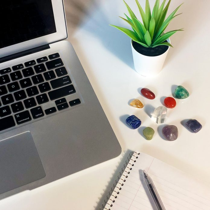 crystals for office desk