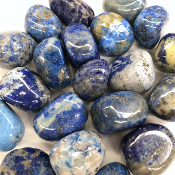 crystal combinations for lapis lazuli